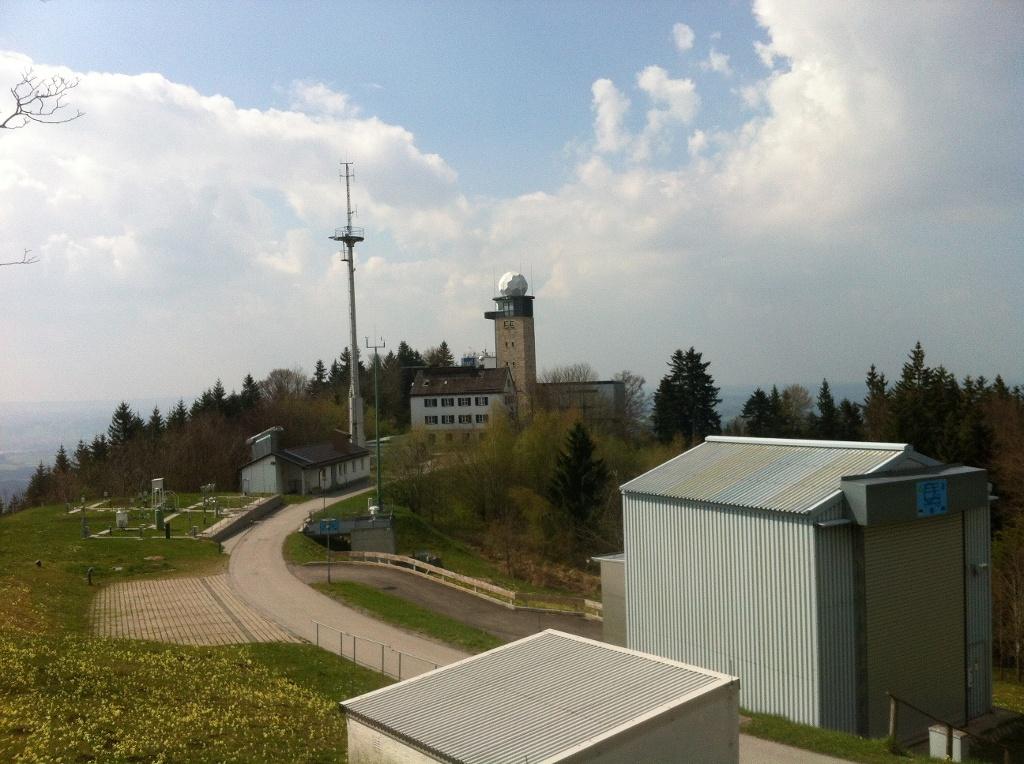 Die älteste Bergwetterwarte der Welt (Antonie Schmid)
