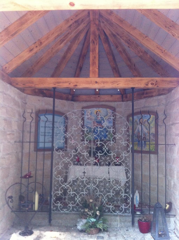 Offene Innengestaltung der Herz-Jesu-Kapelle (Antonie Schmid)