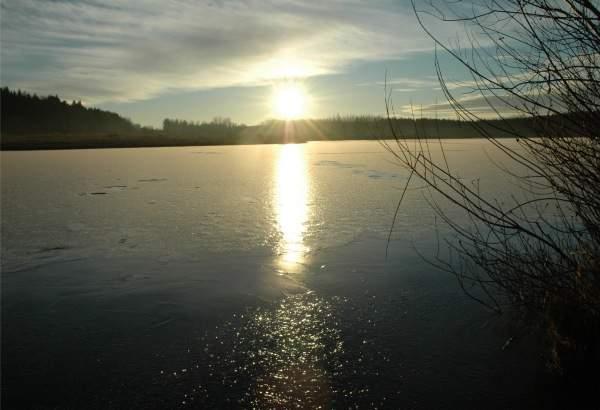 Winterstimmung an der Seenplatte
