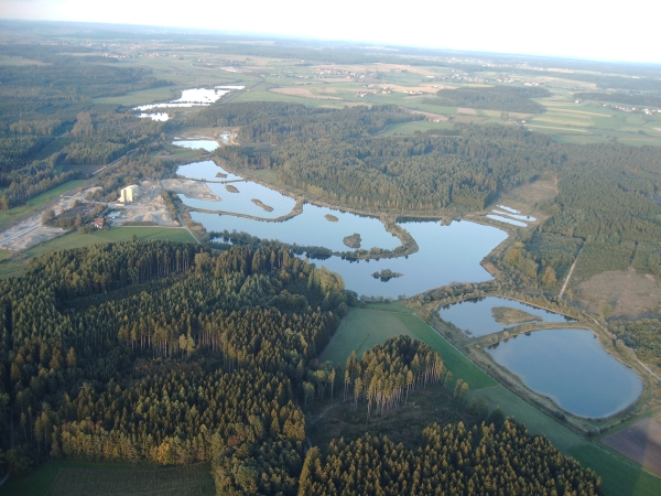 Schwackenreuter Seenplatte bei Mühlingen
