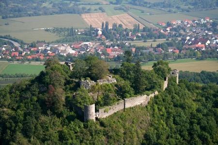 Luftbild des Mägdeberg
