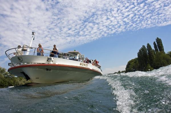 Schifffahrt auf dem Rhein