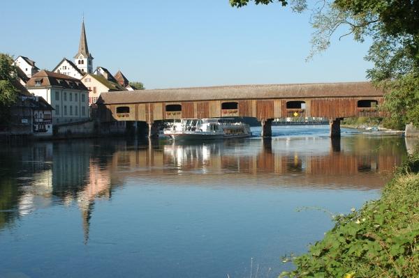 Rheinbrücke zwischen Gailingen und Diessenhofen