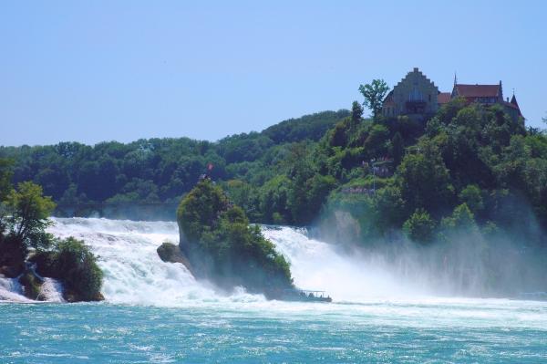 Der Rheinfall bei Schaffhausen