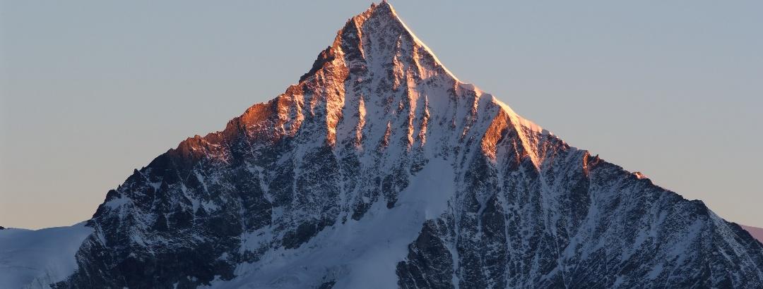 Blick aufs Weisshorn (4'506 m)