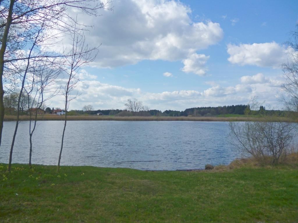 Der idyllische Badsee bei Obersöchering. (Monika Heindl)