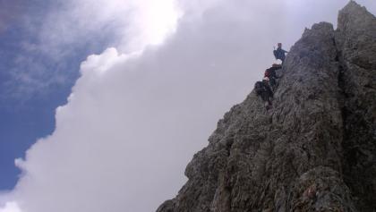Aufstieg zur Gamsfeldspitze