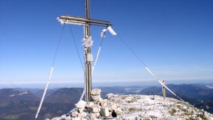 Gipfelkreuz vom Scheiblingstein 2197m