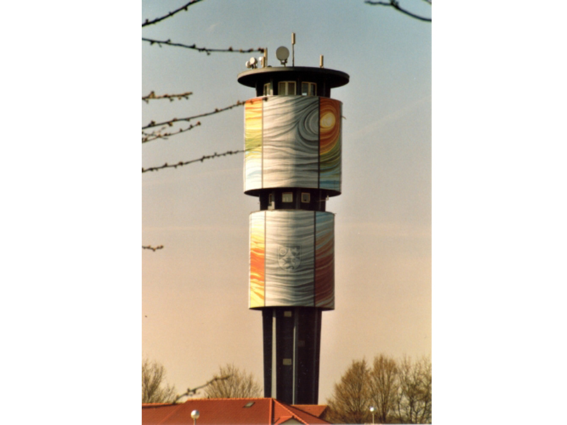 Wasserturm Wallhausen   - © Quelle: Hohenlohe + Schwäbisch Hall Tourismus e.V.