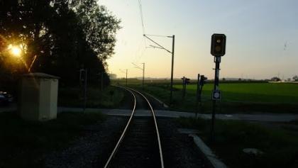 Bahnübergang bei Ubstadt Salzbrunnenstraße