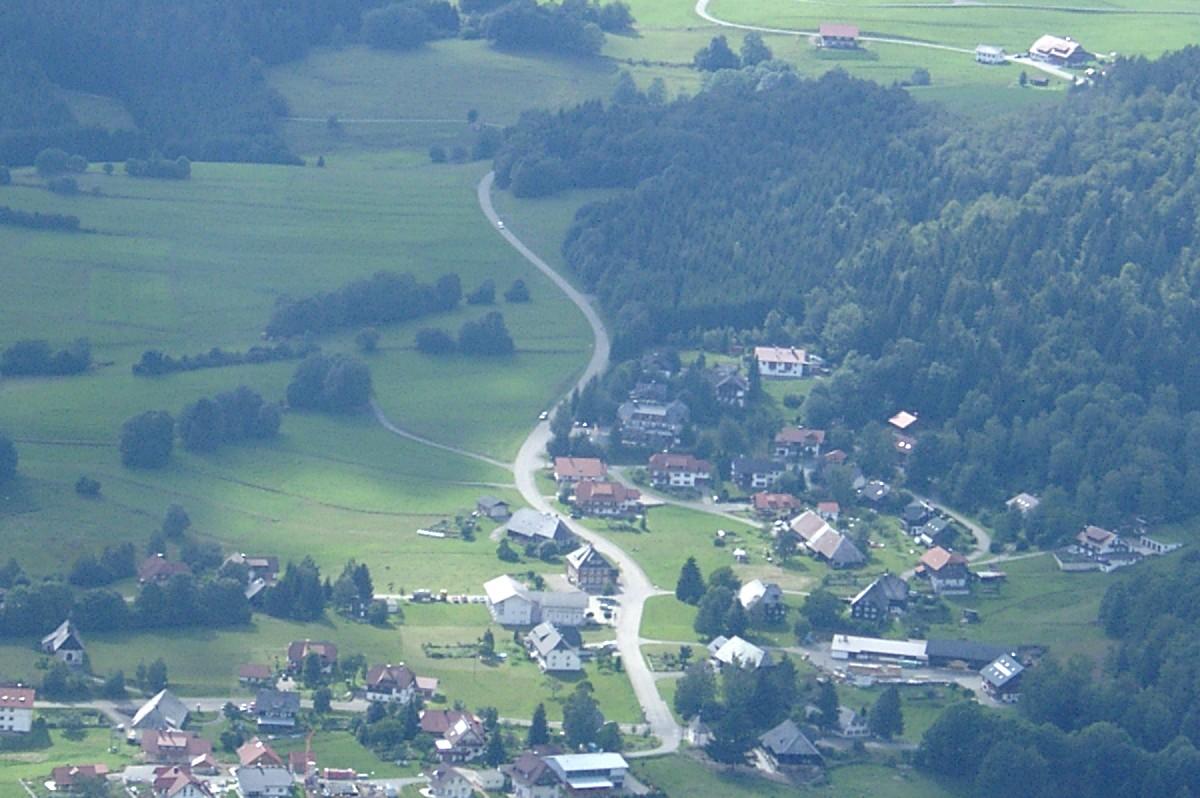 Luftaufnahme Wittenschwand