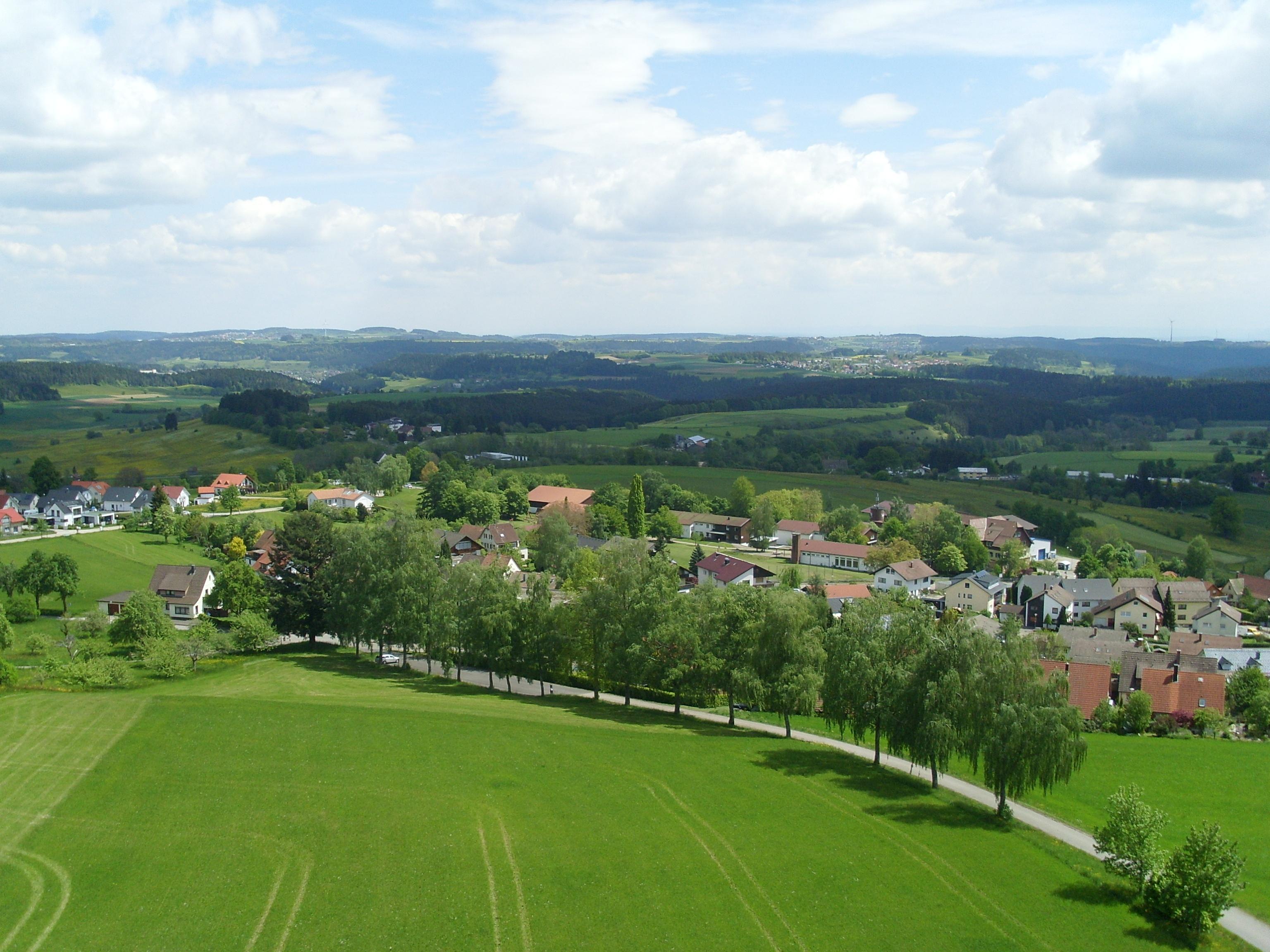 Ausblick vom Vogteiturm Richtung Osten