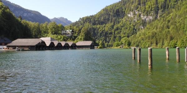 Schiffsstation Schönau am Königssee