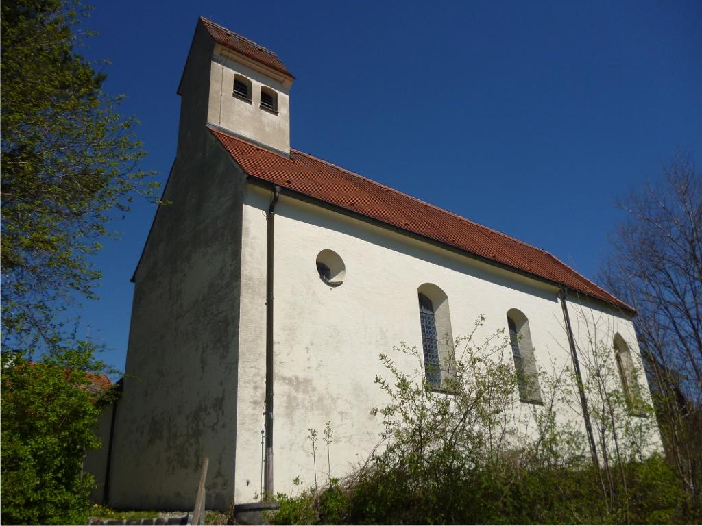 Die Peter und Paul-Kapelle in Dornau. (Monika Heindl)
