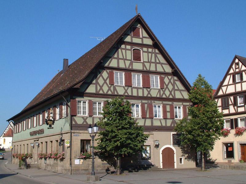 Gasthof zum Bären in Bühlertann   - © Quelle: Hohenlohe + Schwäbisch Hall Tourismus e.V.
