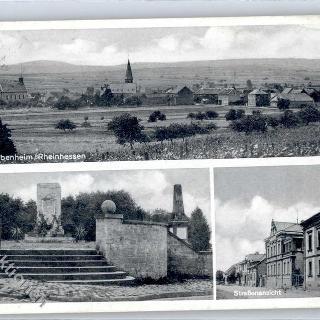 Ansichtkarte von Pfaffen-Schwabenheim