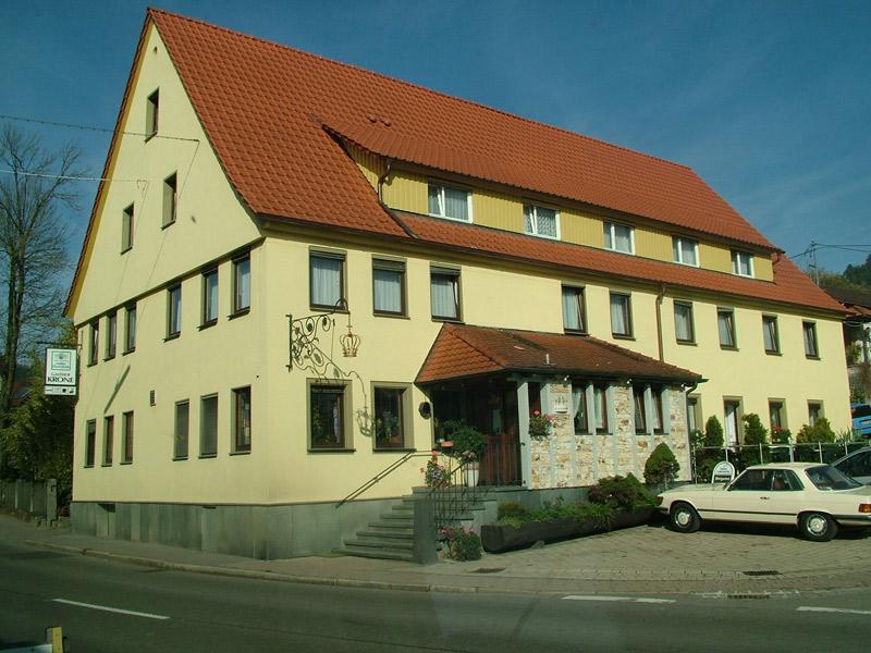 Gasthof Krone in Fichtenberg   - © Quelle: Hohenlohe + Schwäbisch Hall Tourismus e.V.