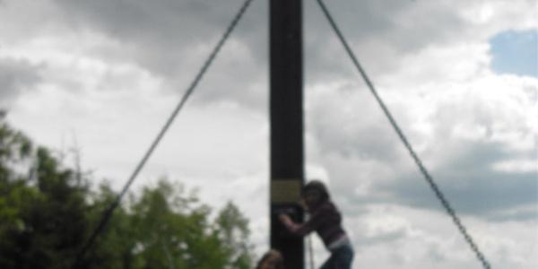 Gipfelkreuz beim Hirschenstein