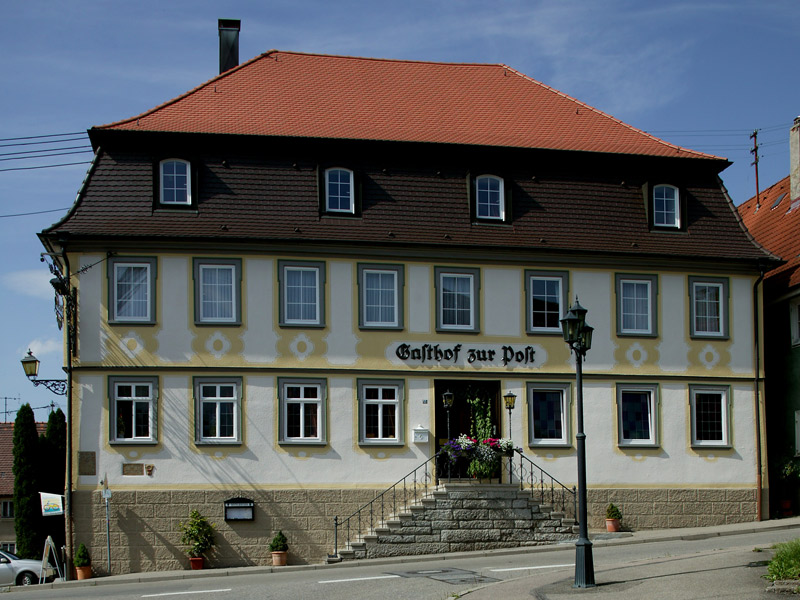 Gasthof zur Post in Langenburg   - © Quelle: Hohenlohe + Schwäbisch Hall Tourismus e.V.