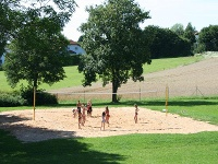 Beach-Volleyball im Freibad Langenburg