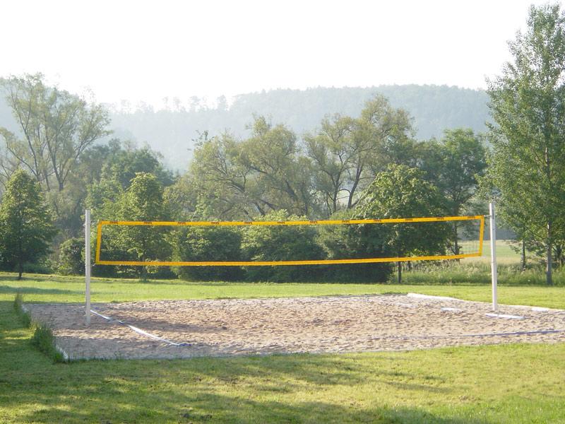Beach-Volleyballfeld bei der Stephan-Keck-Halle   - © Quelle: Gemeinde Sulzbach-Laufen