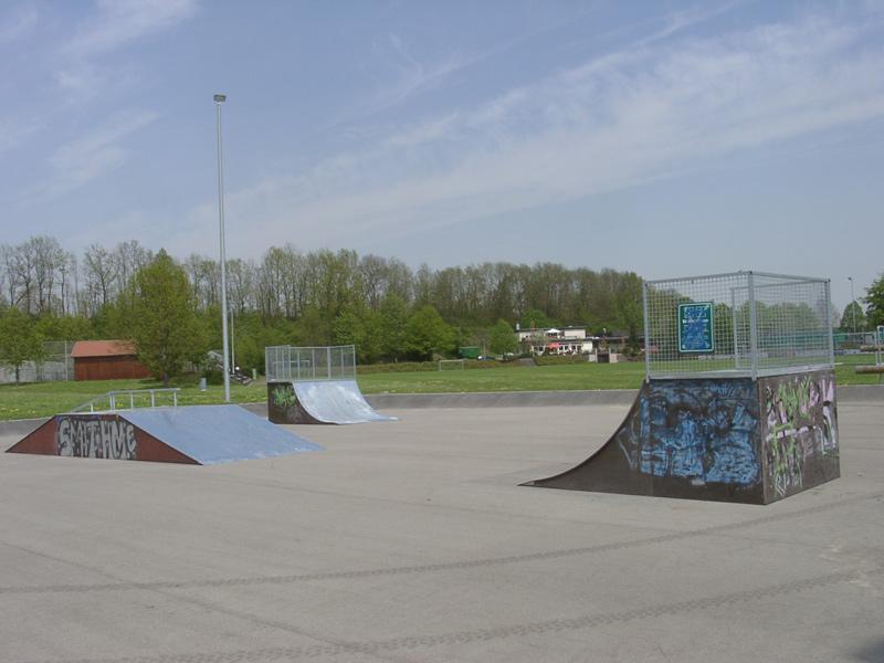 Skateanlage im Sportzentrum   - © Quelle: Hohenlohe + Schwäbisch Hall Tourismus e.V.