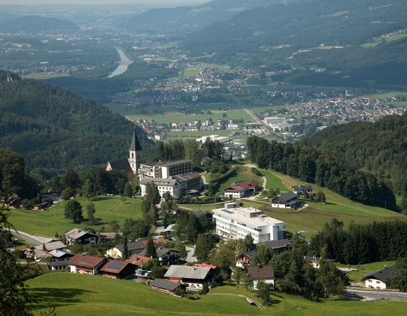 Aussicht auf Bad Dürrnberg