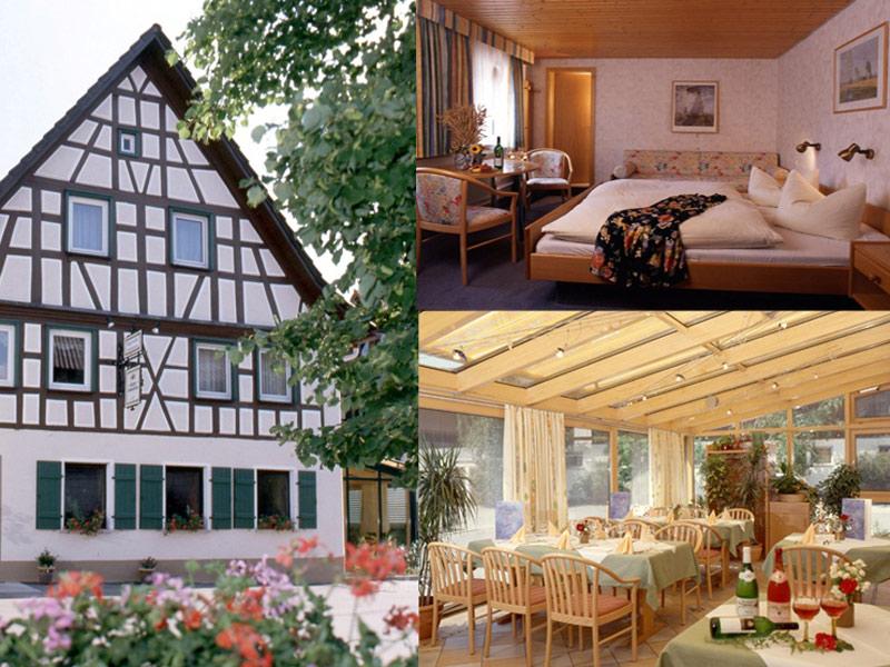 Landgasthof Bürgerstüble in Michelfeld-Büchelberg   - © Quelle: Hohenlohe + Schwäbisch Hall Tourismus e.V.