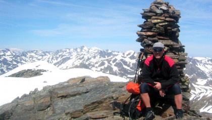 Gipfel des Pic de la Serrere 2912 Hm