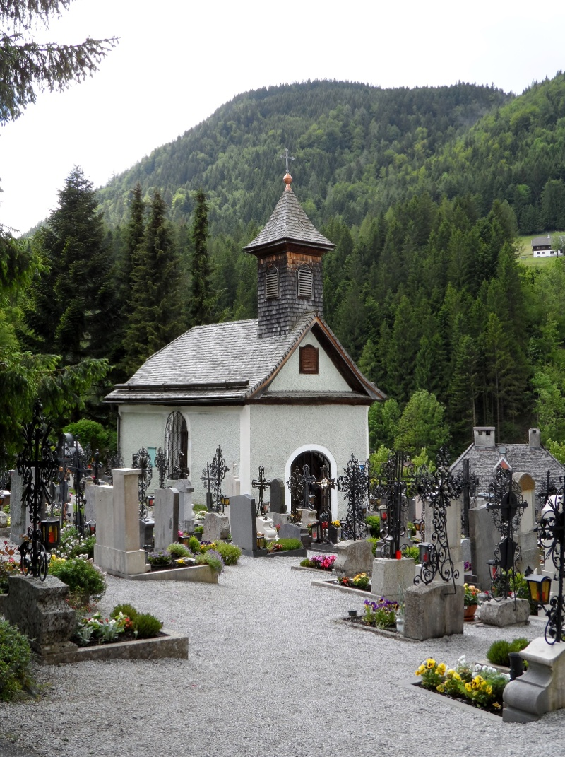 Annaberger Friedhof mit Kapelle
