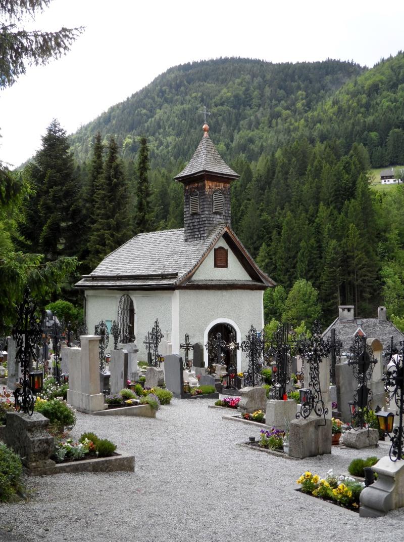 Annaberger Friedhof mit Kapelle