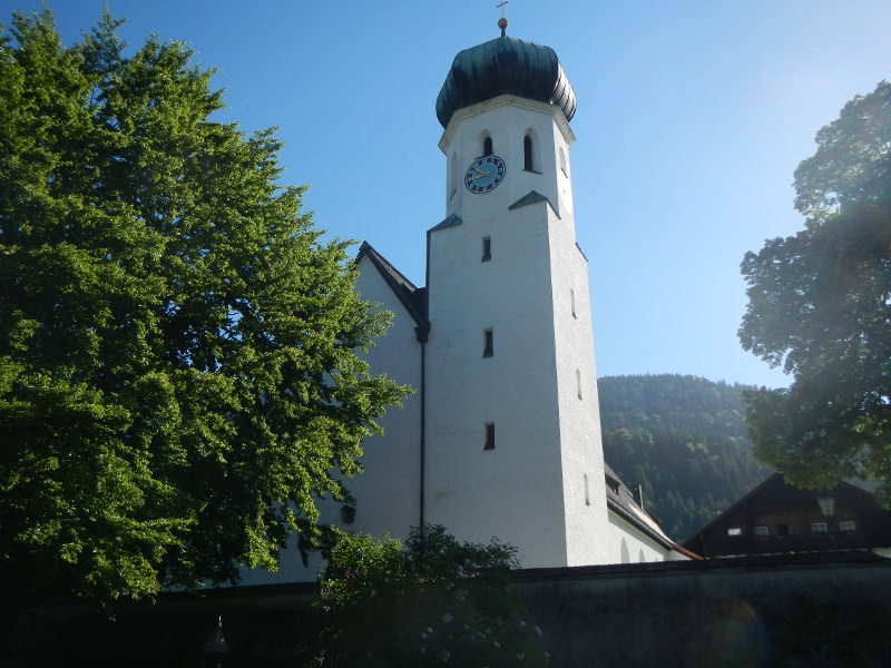 Kirche von Bischofswiesen