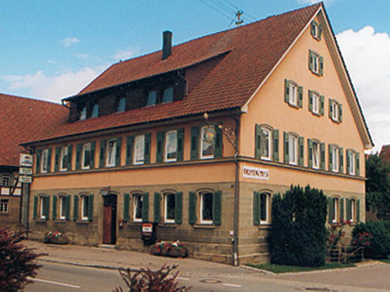Gasthof Ochsen   - © Quelle: Hohenlohe + Schwäbisch Hall Tourismus e.V.