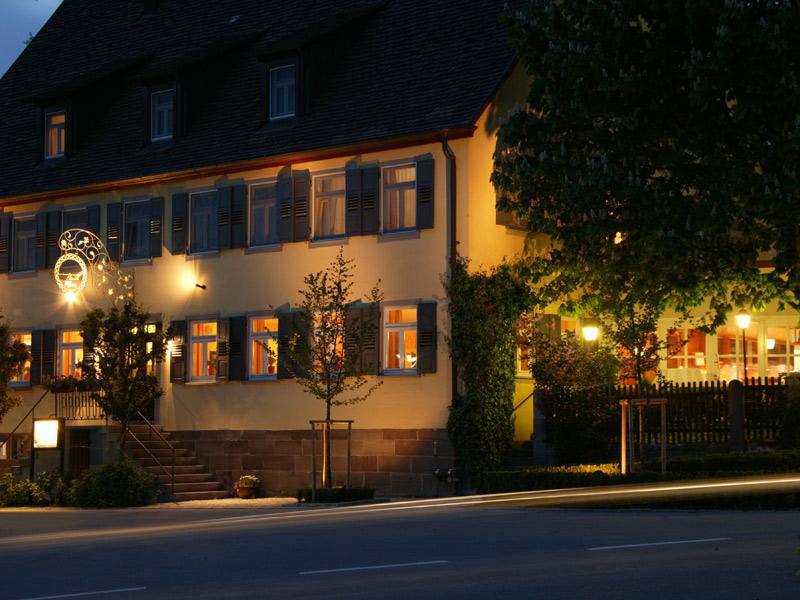 Rebers Pflug ***S Restaurant mit Hotel   - © Quelle: Hohenlohe + Schwäbisch Hall Tourismus e.V.