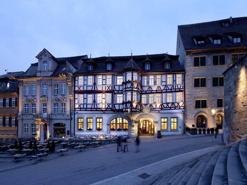 Stadt-Gut Hotel Goldener Adler ***S   - © Quelle: Hohenlohe + Schwäbisch Hall Tourismus e.V.