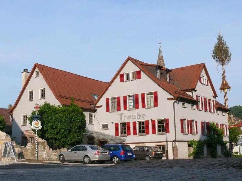 Pension Gasthof Traube   - © Quelle: Hohenlohe + Schwäbisch Hall Tourismus e.V.
