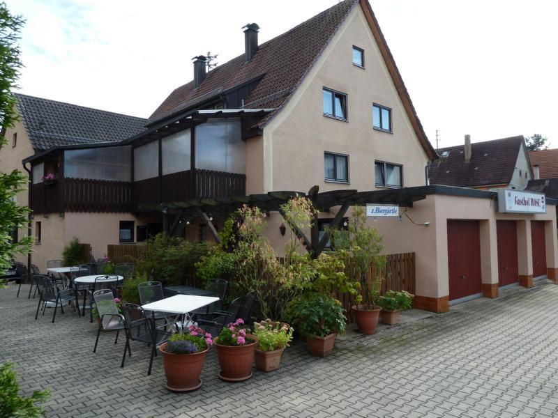 Gasthof Rose   - © Quelle: Hohenlohe + Schwäbisch Hall Tourismus e.V.