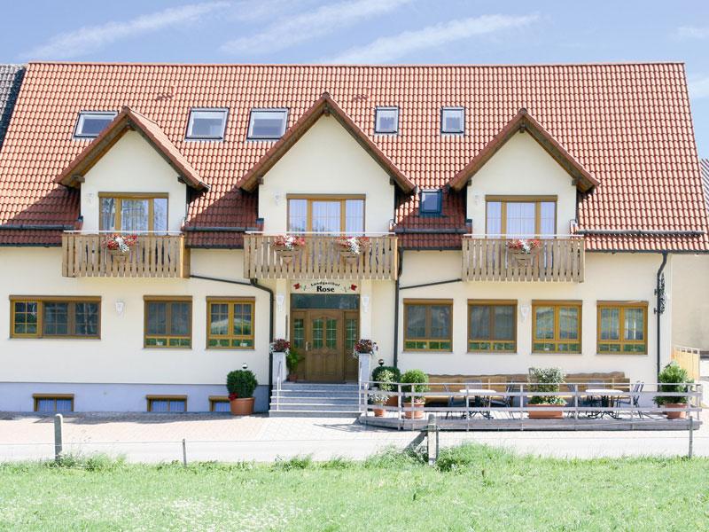 Landgasthof Rose   - © Quelle: Hohenlohe + Schwäbisch Hall Tourismus e.V.