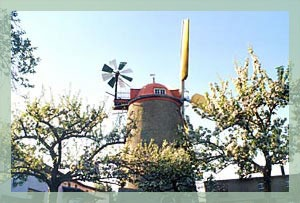 Foto Turmholländer Windmühle Pahrenz