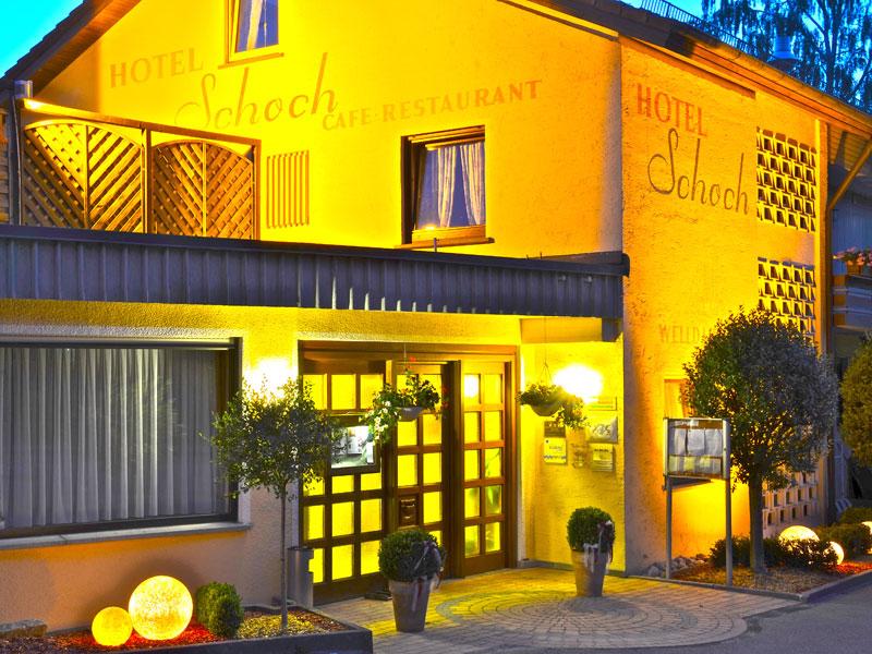 Hotel Café Restaurant Schoch GmbH ***S   - © Quelle: Hohenlohe + Schwäbisch Hall Tourismus e.V.