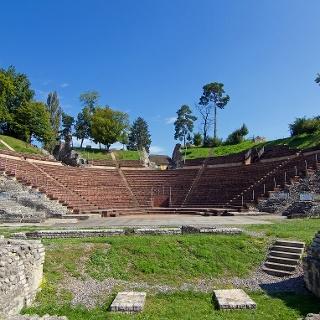 Das römische Theater in Augst ist das am besten erhaltene seiner Art nördlich der Alpen