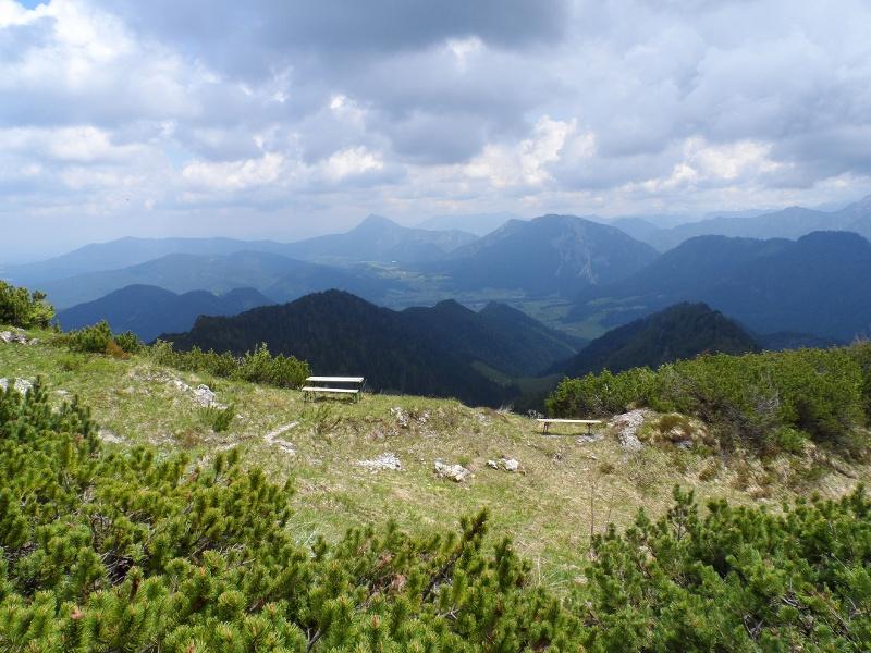 Panorama am Hochfelln