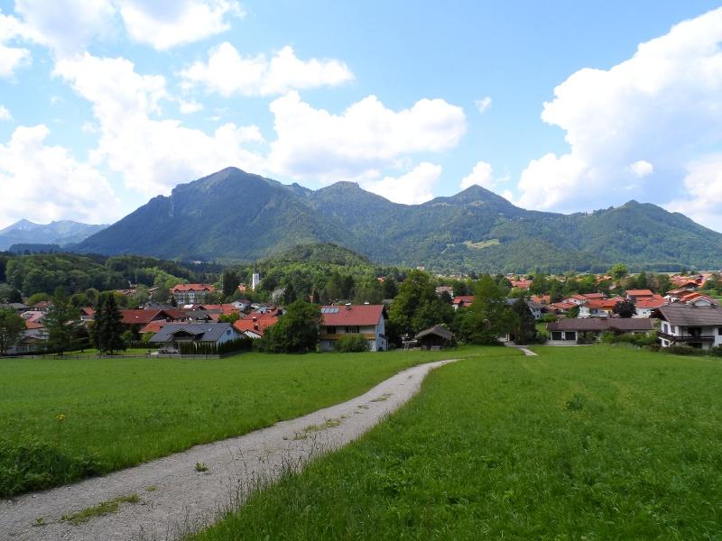 Schöner Ausblick auf Marquartstein