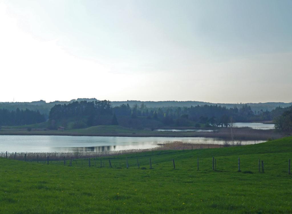 Weiter Blick von Iffeldorf über Seng- und Fohnsee. (Monika Heindl)