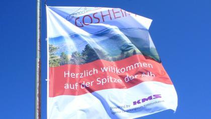 Fahne auf dem Lembergturm