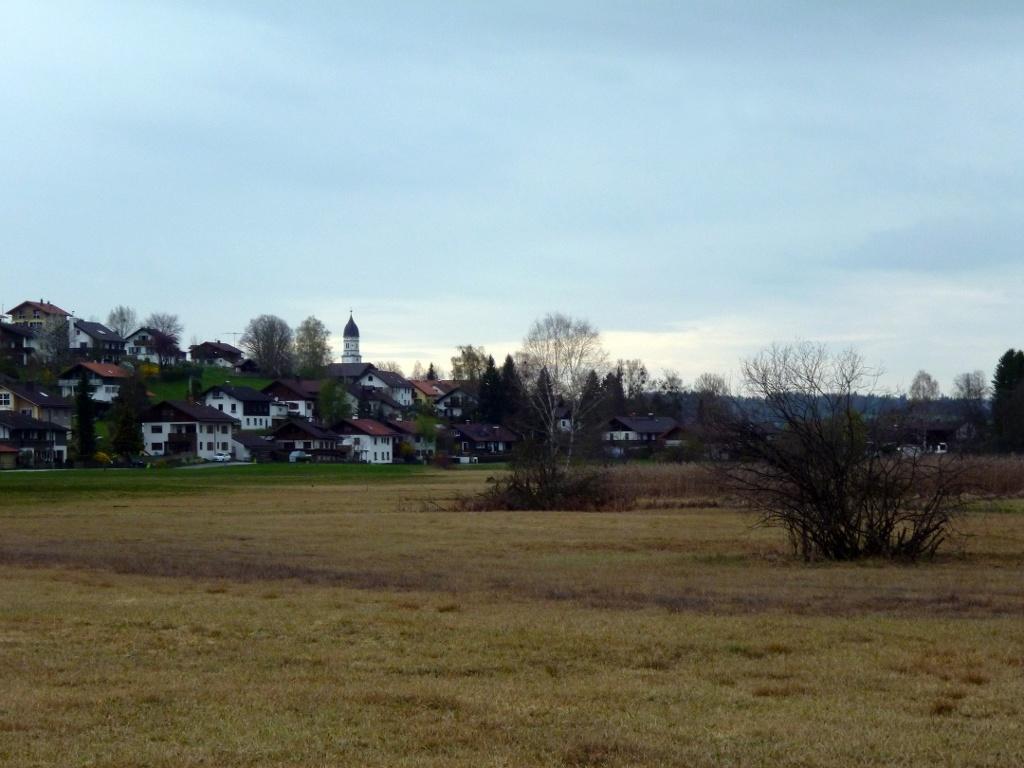 Die Grasleitner Moorlandschaft vor den Häusern von Oberhausen. (Monika Heindl)