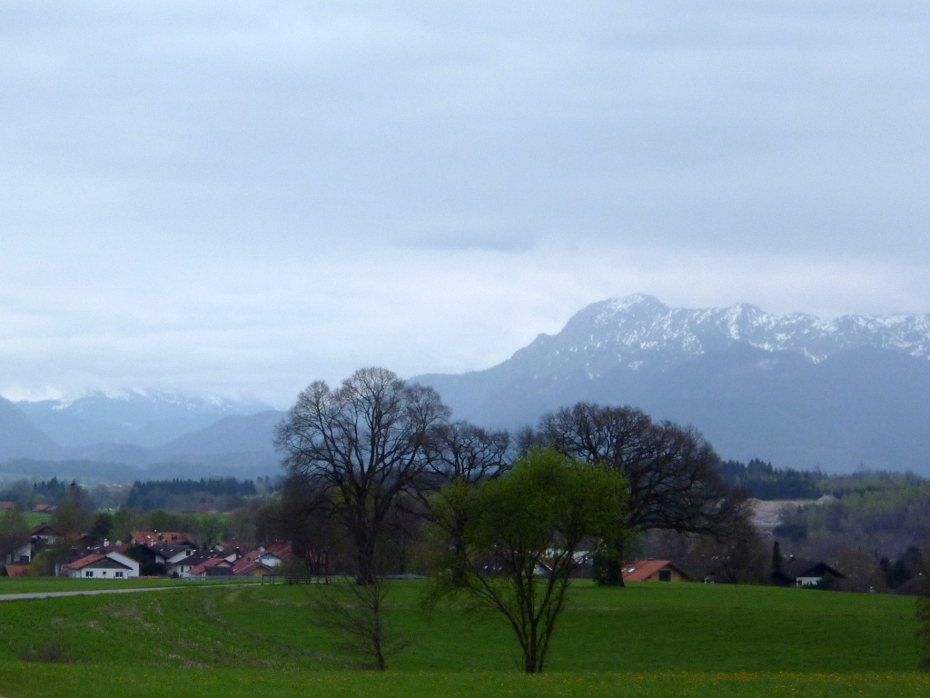 Traumhafter Bergblick auf dem Weg nach Rameck. (Monika Heindl)