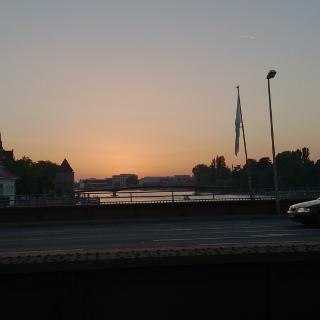 Sunset in Konstanz Altstadt