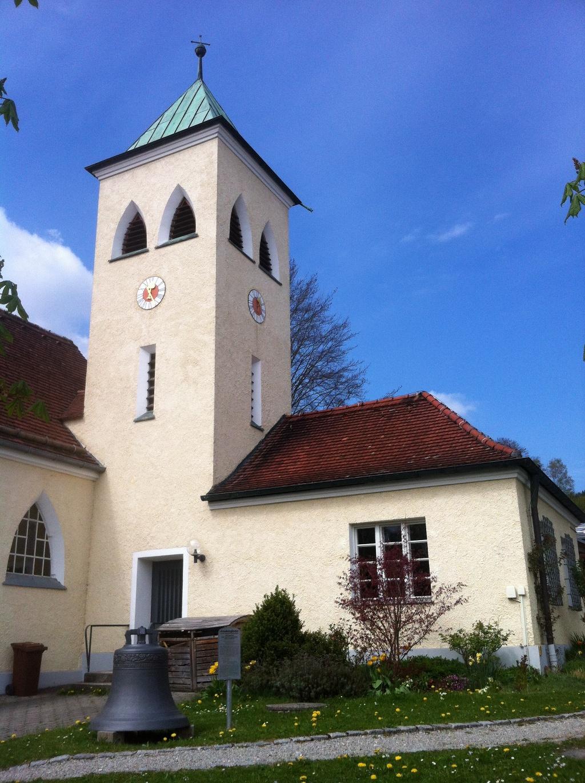 Friedenskirche in Peißenberg (Antonie Schmid)