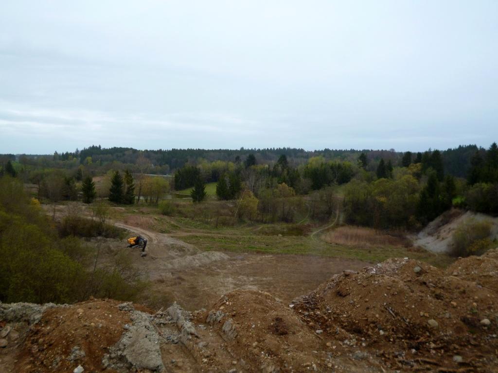 Stillgelegte Kiesgrube südöstlich von Huglfing. (Monika Heindl)